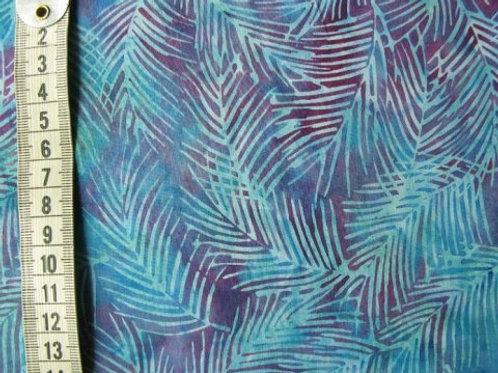 Turkis blå bind med lilla mønster - Bali