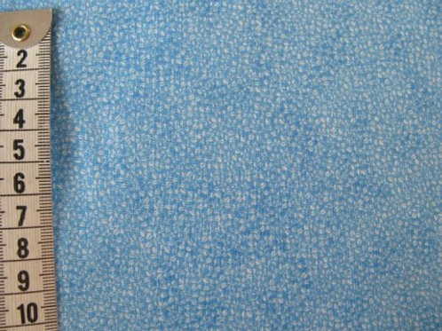 Lys blå bund m. mønster