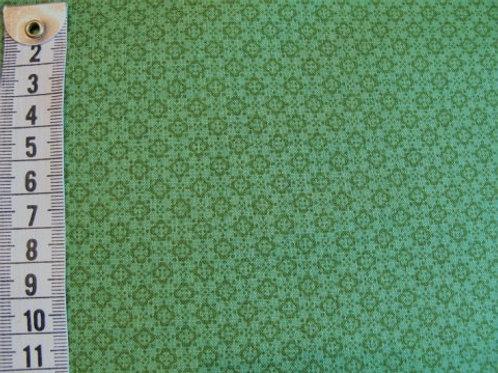 Grøn bund m. lidt mørkerer grøn mønster