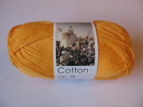 Cotton no. 8 - Orange