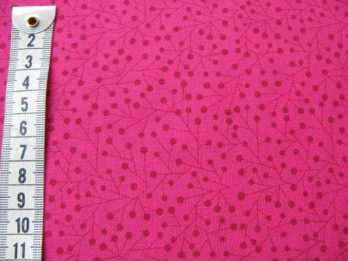 Pink bund m. mørkere mønster