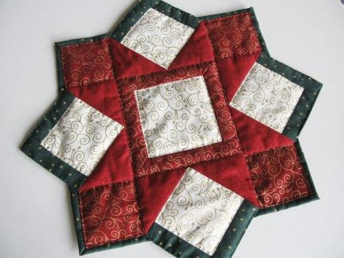Stjerneformede julelysedug