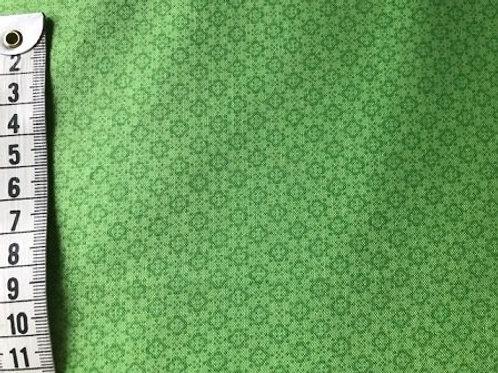 Grøn bund med lidt mørkere grøn mønster