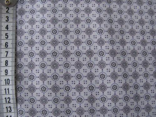 Lys grå bund m. mønster