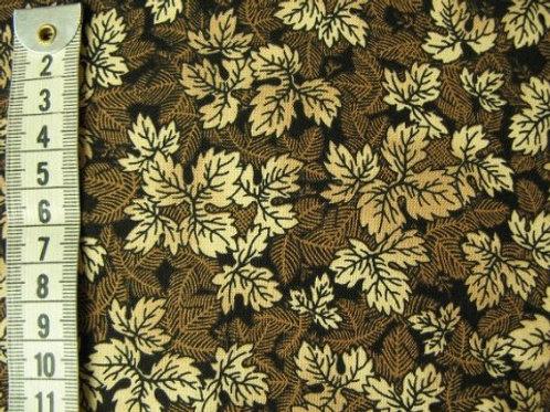 Mørk brun bund med blade
