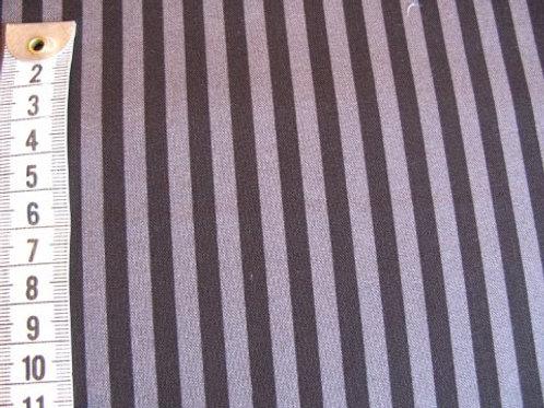 Sort / grå stribet