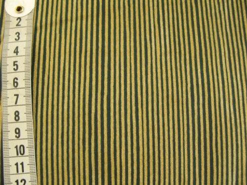 Guld og grønne striber