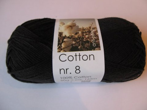 Cotton no. 8 - Sort