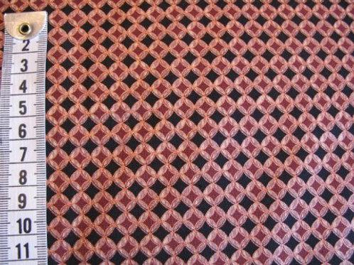 Sort bund m. kobber mønster