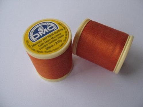 Orange quiltetråd fra DMC - 200 m