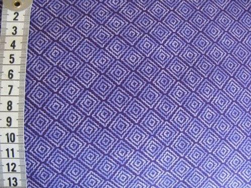 mørk lilla bund m. lysere lilla mønster