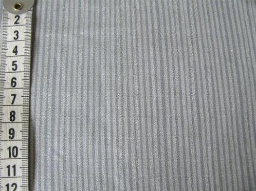 Grå bund m. sølv striber