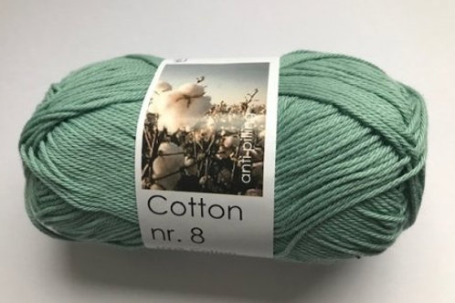Cotton no 8 - grøn