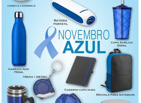 Brindes para o Novembro Azul