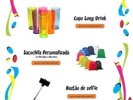 Brindes personalizados para o Carnaval