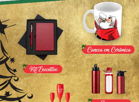 Antecipe-se a garanta brindes especiais para o Natal!