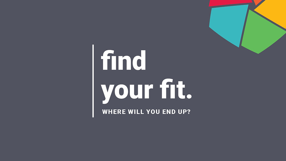 Volunteer Campaign - Find Your Fit