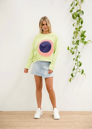 CIRCLE HAZE SWEAT