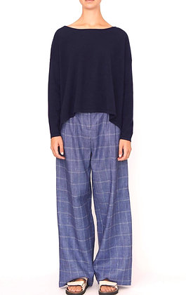 SEQUENCE CHECK PANT