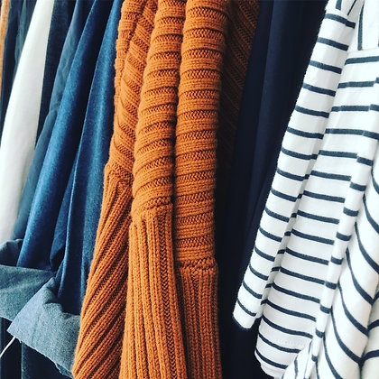 Stripes Knits and Denim