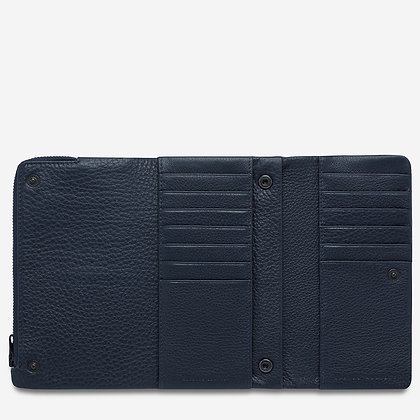 Status Anxiety Audrey Wallet (NavyPebble)