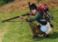 Richard Moore, expert on the 95th Rifles and Historical Advisor on 'Sharpe'