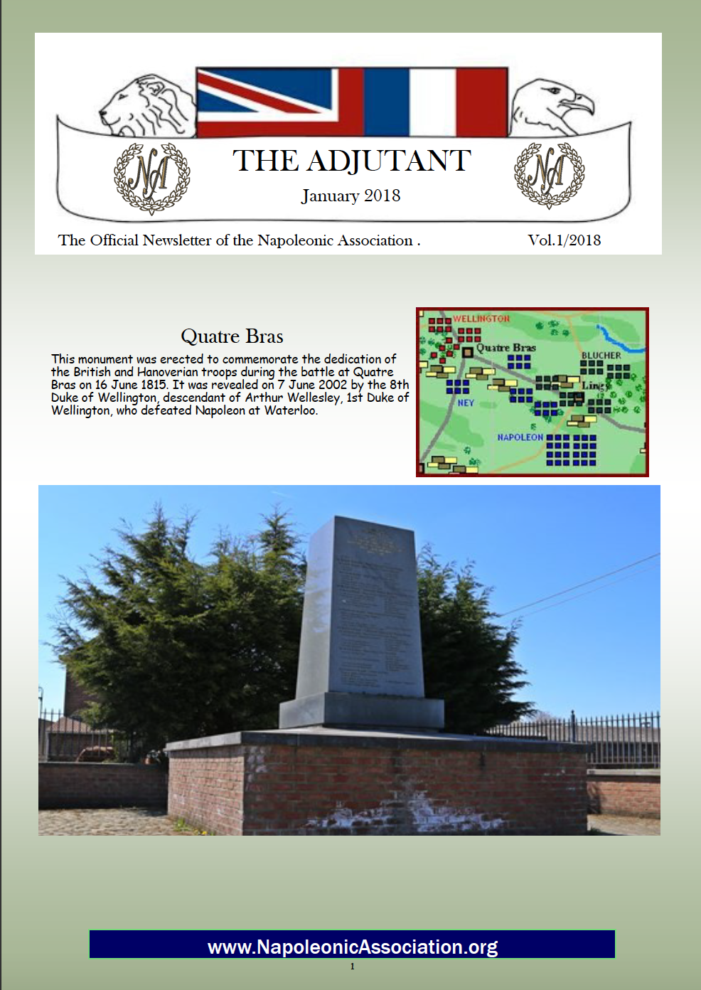 The Adjutant (Winter 2017)