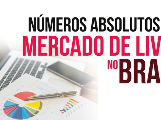 Números Absolutos do Mercado de Livros no Brasil