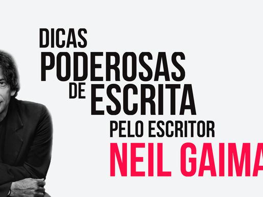 Dicas poderosas de escrita pelo escritor Neil Gaiman