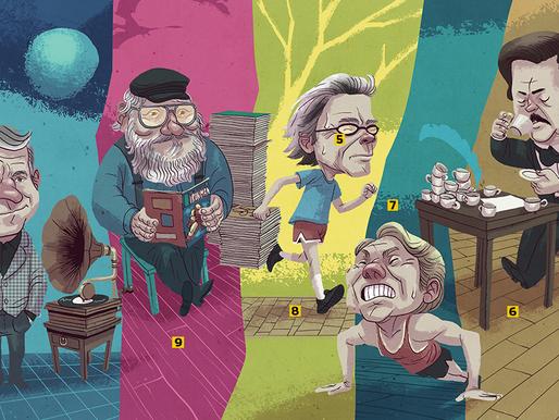 10 manias inusitadas de escritores famosos
