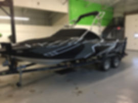 Custom designed boat wraps for boats of all kinds at Wrap Hive in Kalispell, MT