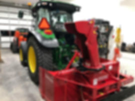 Simple decal package on a tractor and machinery
