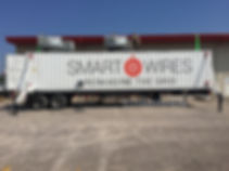 Smart Wires trailer decals for Nomad by Wrap Hive