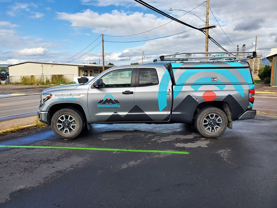 Silver Tundra with Decals