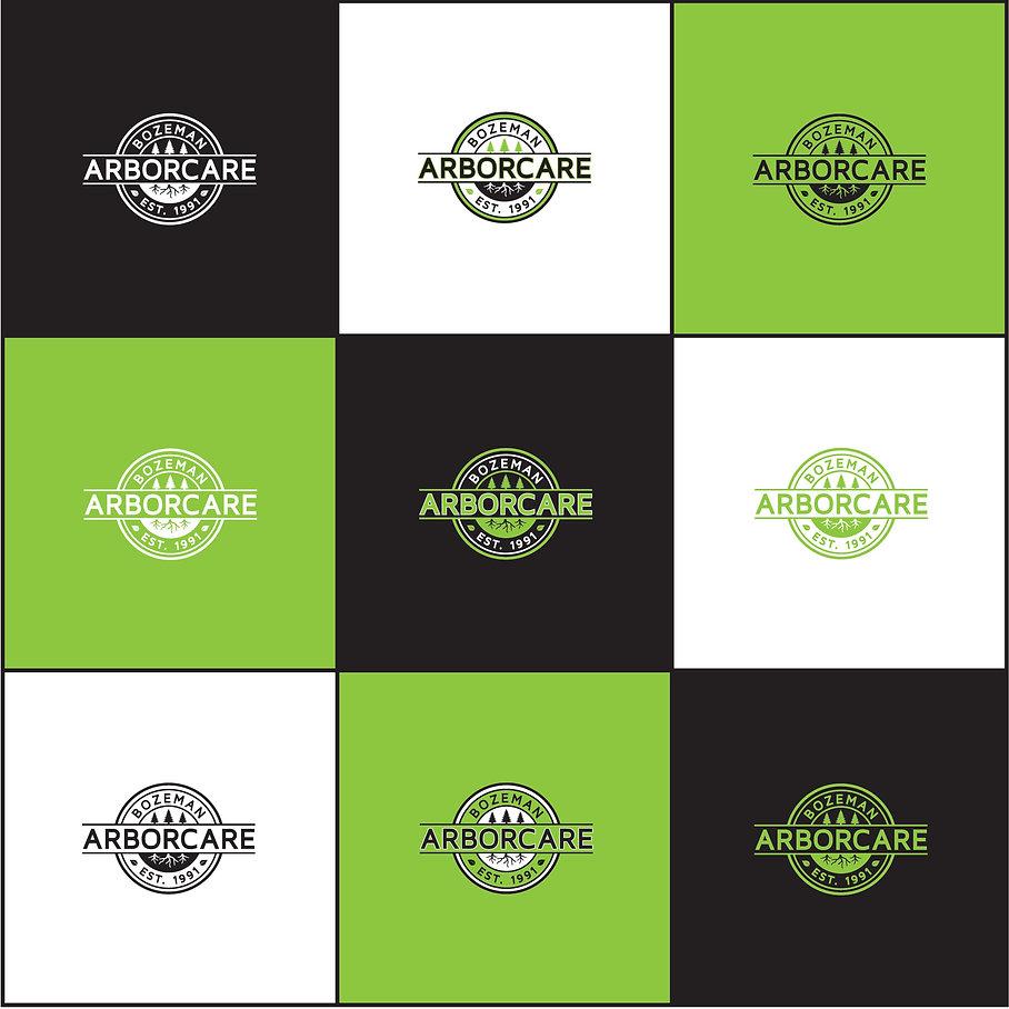 Logo Design by Wrap Hive for Bozeman Arborcare.