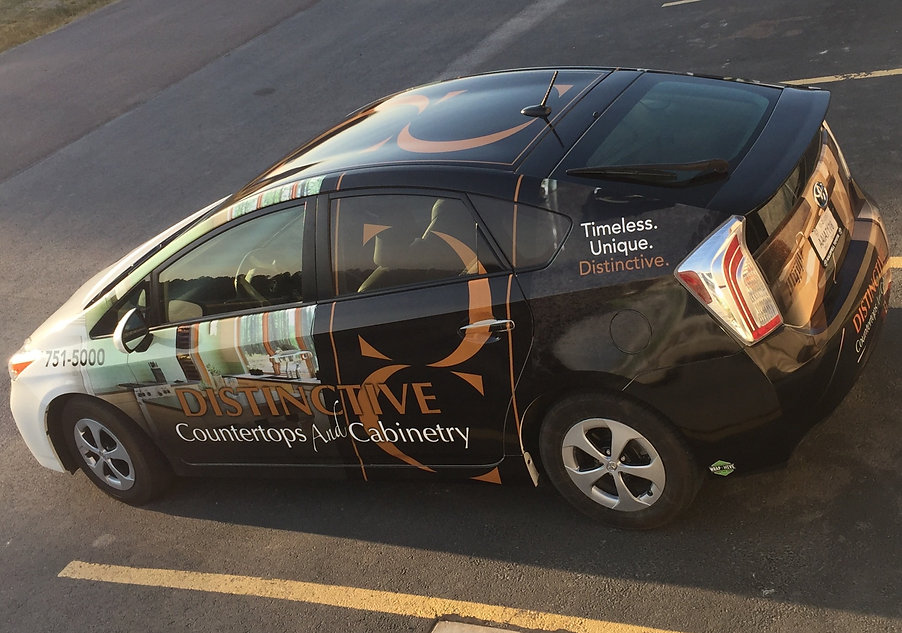 Vehicle Wraps provide unmatched visibility for your brand! Wrap Hive can design, print and install your custom vehicle graphic wrap.