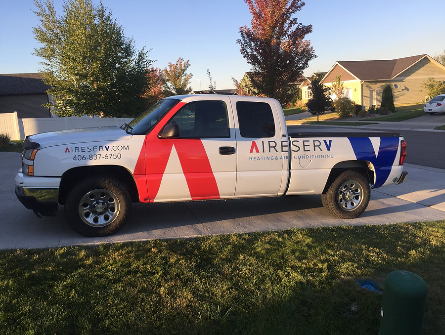 Truck decals by Wrap Hive