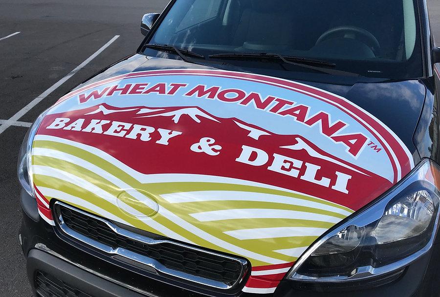 Wheat Montana Kia Soul hood wrap