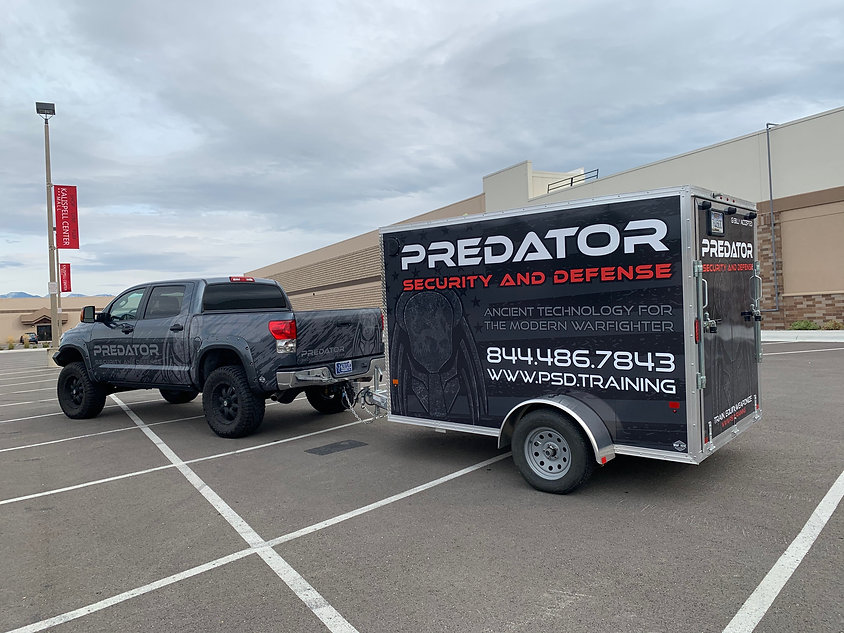 Full print truck and trailer wrap