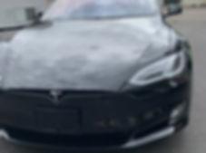 Tesla chrome delete carbon fiber