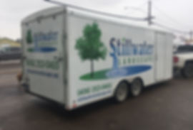 New or old, Wrap Hive can add graphics to any trailer. Stillwater Landscape in Kalispell, Montana.