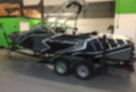 Custom Boat wrap graphics by Wrap Hive, Kalispell Montana
