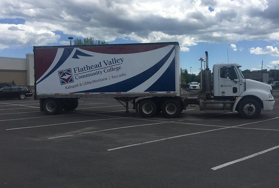 Flathead Valley Community College Box truck