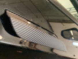 Tesla Chrome delete on door handles with carbon fiber | Wrap Hive | Kalispell MT
