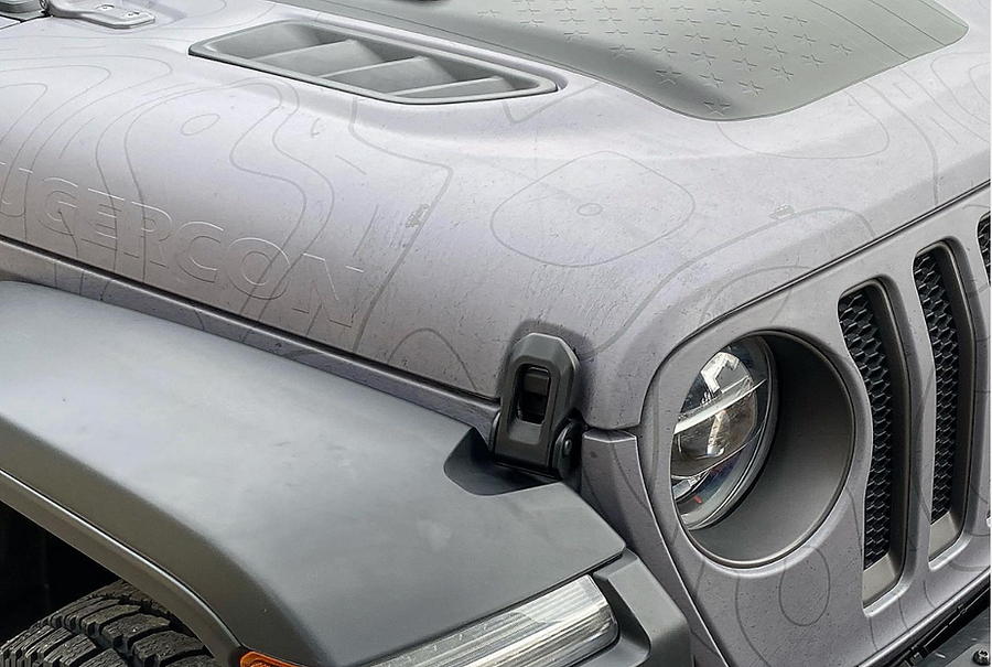 Embossed full wrap Jeep Rubicon