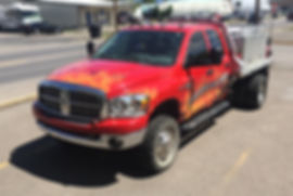 Vehicle Wrap Designed and installed by Wrap Hive in Kalispell, MT. Fleet vehicle wraps, graphics and more.