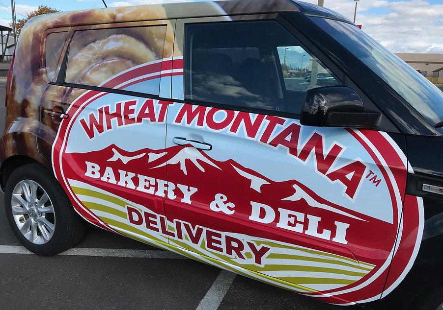 Wheat Montana three quarters wrap
