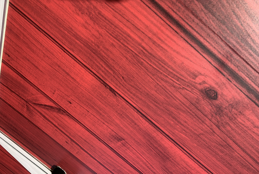 Close up of wood texture wrap