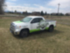 Toyota Tundra vehicle wrap by Wrap Hive.