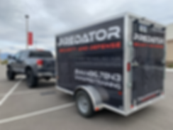 Vehicle and trailer wrap by Wrap Hive Kalispell